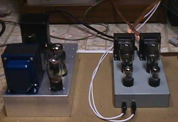 45 S E Stereo Amplifier